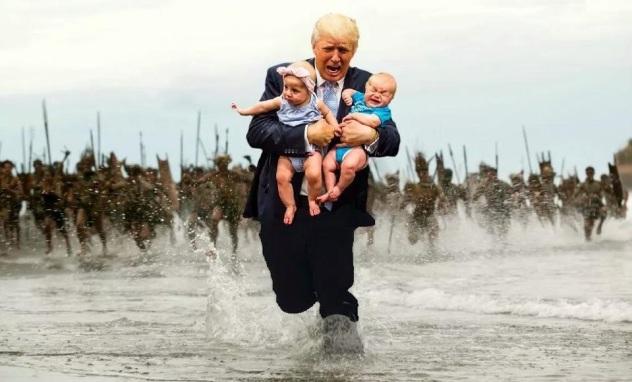 Trump bambini liberal